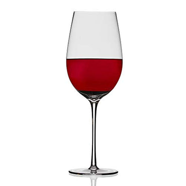 Chefoh Oversized Extra Large Stemware Wine Glass - Comfy Lead-Free Crystal Glasses Perfect for Wedding - Parties and Bar - Holds a Full Bottle of Wine - 33oz