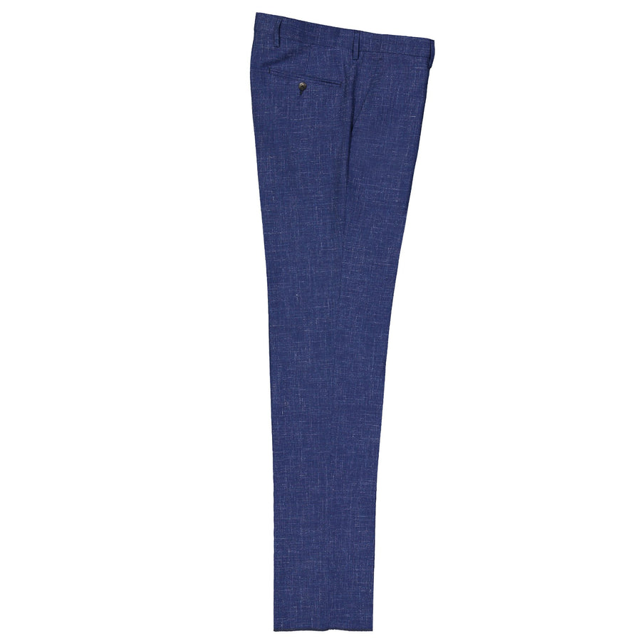 Flat Front Wool Blended Trouser
