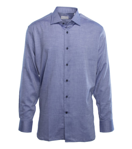 Denim Blue Twill Shirt