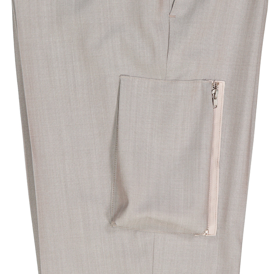Wool Trouser Stretch Waistband