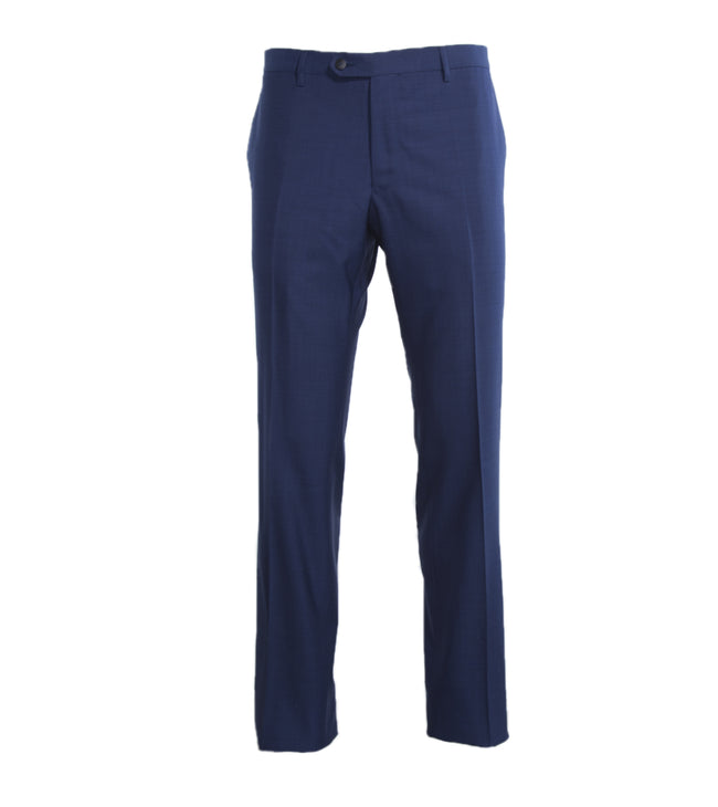 Flat Front Pure Wool Trouser