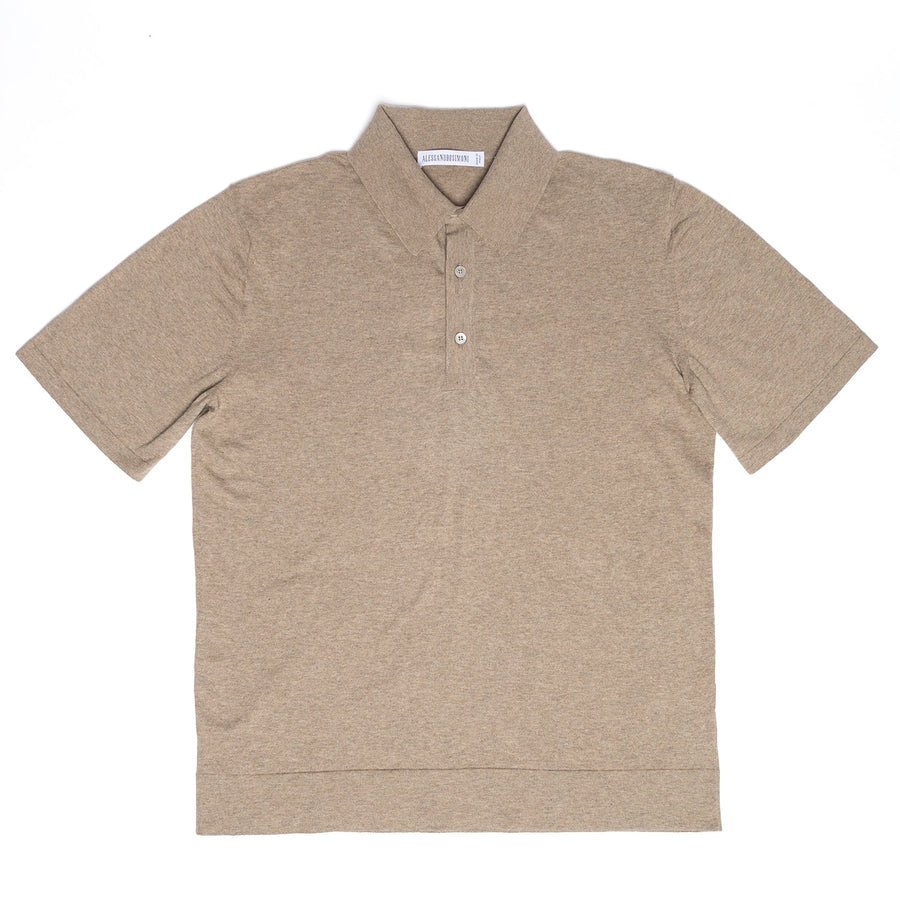 Fine Cotton Knitted Polo