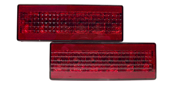 "T80-SET-1    Eight-Function 8"" LED Box Tail Light set right and left"
