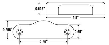 E03-00HG-1	Eon Light Linear Horizontal Case Gasket