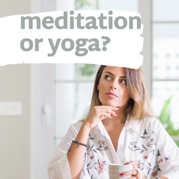 Difference between meditation and yoga