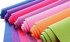 Colorful PVC yoga mats