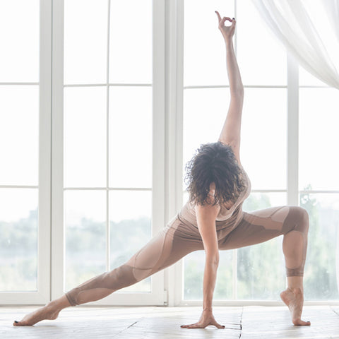 Mindful movement in yoga