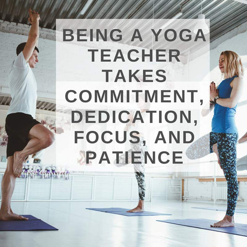 Blog post about becoming yoga instructor