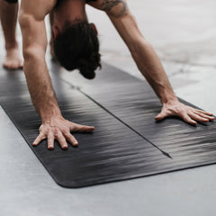 PU top sticky yoga mat