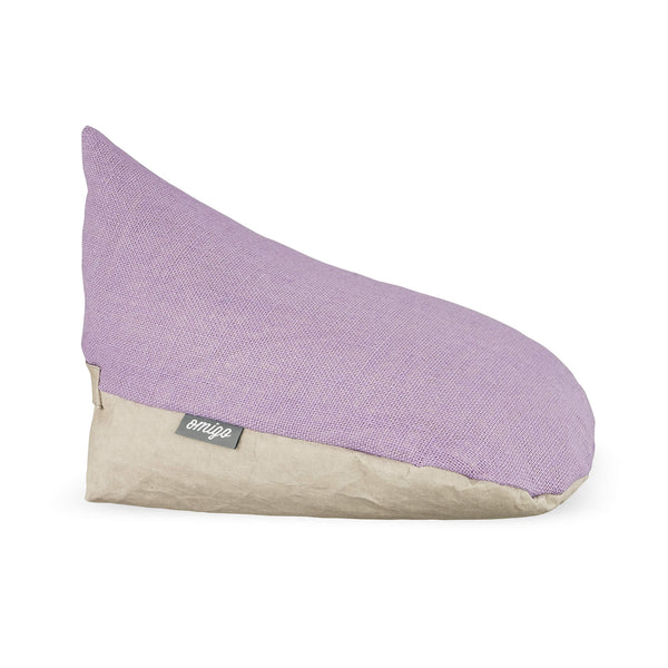 omigo meditation pillow grey with lilah top