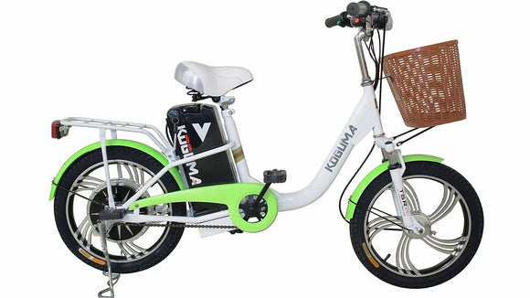 Wheegreen K-18 Emerald Green - E-Bike Fast