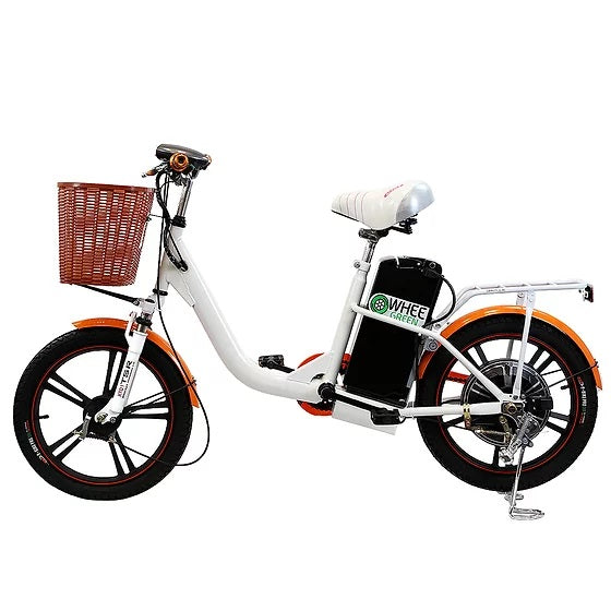Wheegreen K18 - Orange Lily - Bicycle WheeGreen E-Bike Fast