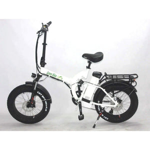 Green Bike USA - GB750 Fat Tire - Folding E-Bike - Bicycle Green Bike USA E-Bike Fast