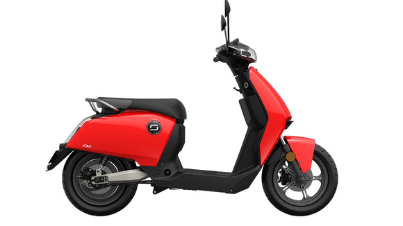 The Super Soco CU 2 Electric Scooter - E-Bike Fast