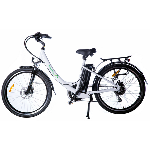 Green Bike USA - GB2 500W Beach Cruiser E-Bike - Bicycle Green Bike USA E-Bike Fast
