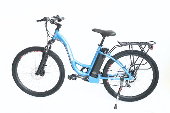 X-Treme TC-36 Electric 36 Volt Step-Through Mountain Bike - Bicycle > electric bike > electric mountain bike X-Treme E-Bike Fast