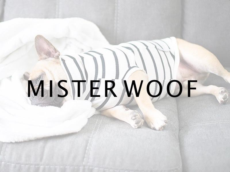 An interview with Mister Woof - Classic Designer Dog Clothes