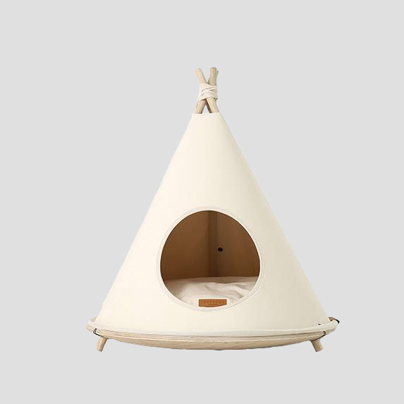 Pets So Good Choco Dog Tent Natural Beige