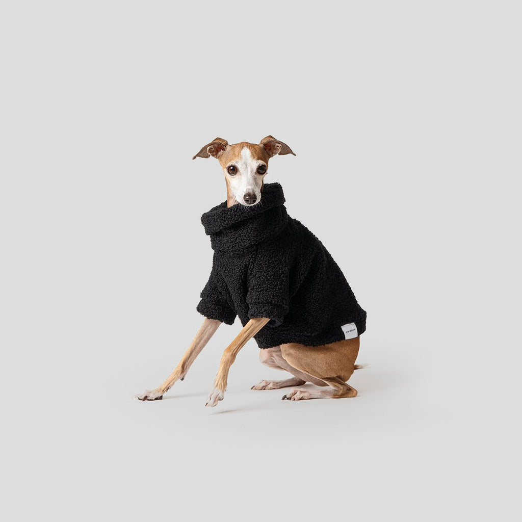 Mister Woof Black Teddy Dog Jumper