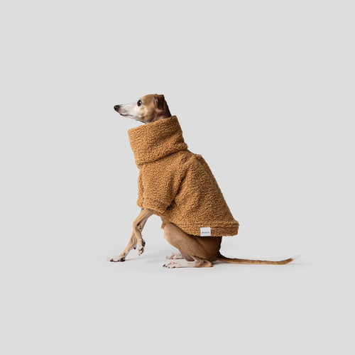 Mister Woof Camel Teddy Dog Jumper