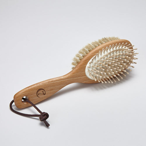 Cloud7 Leather Loop Dog Brush