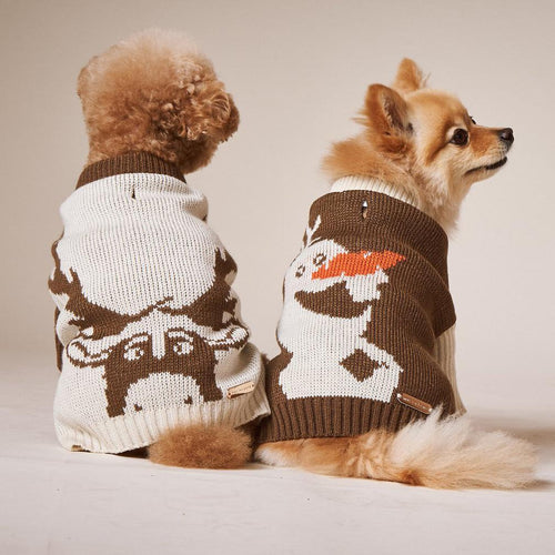 max bone frozen dog jumper