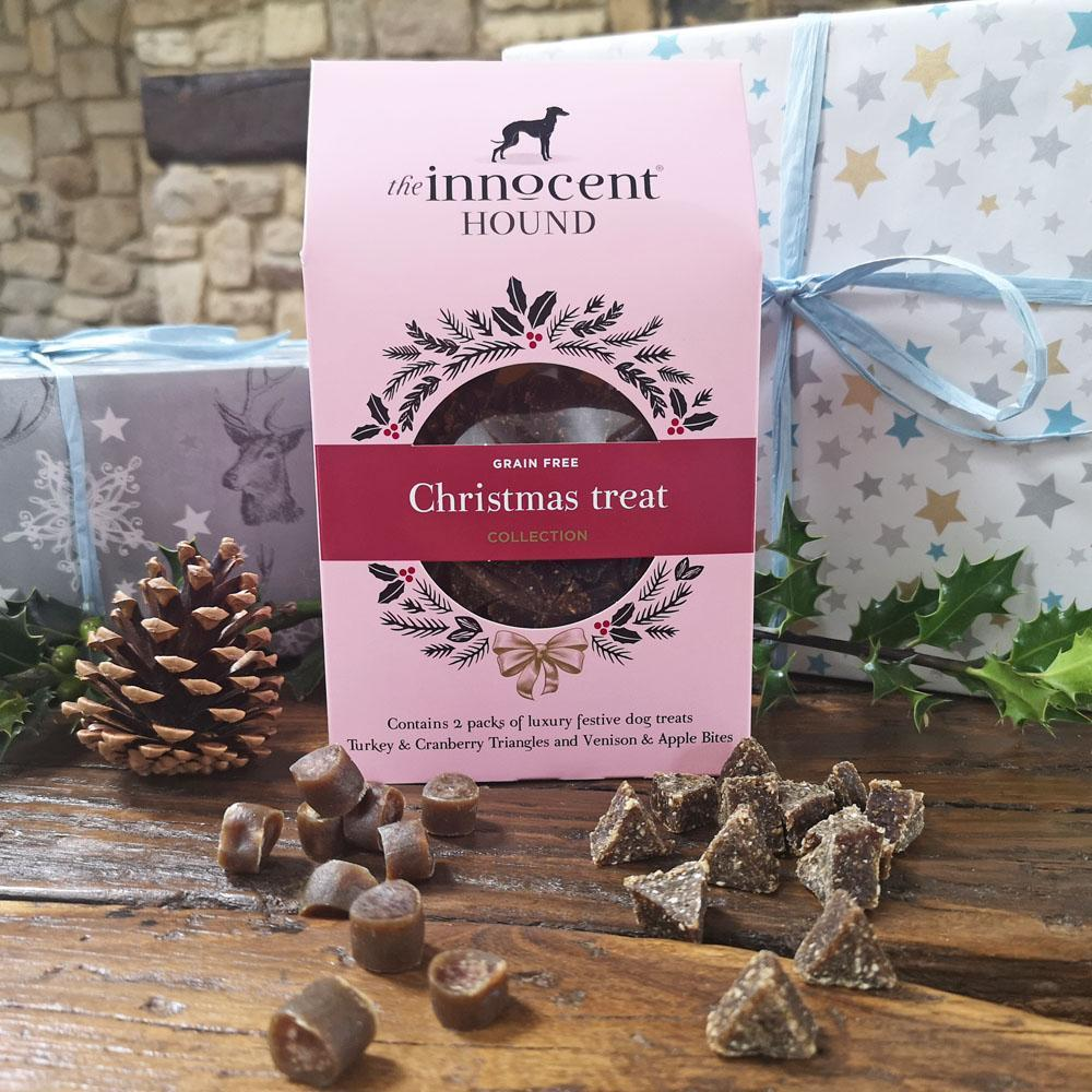 christmas flavour dog treats