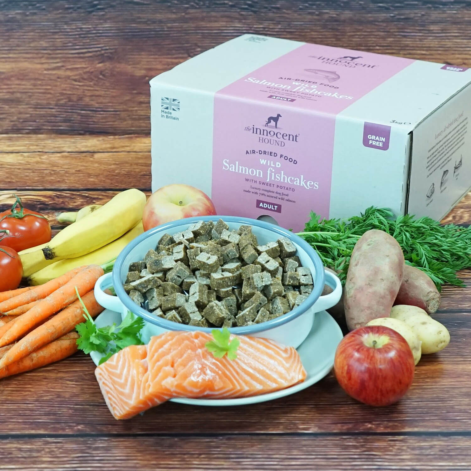 luxury fish dog food for dogs