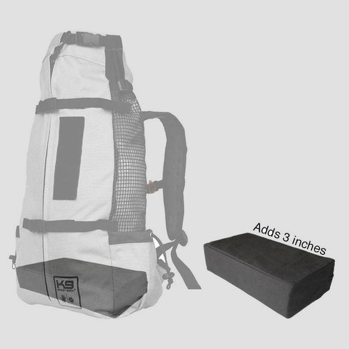 dog backpack booster block