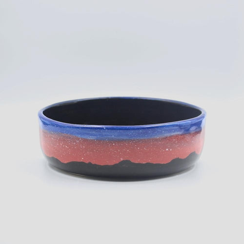 "btw Ceramics ""Aurora"" Ceramic Dog Bowl"