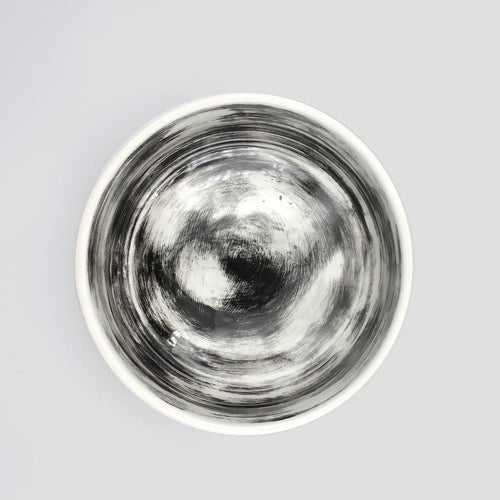 porcelain dog bowl