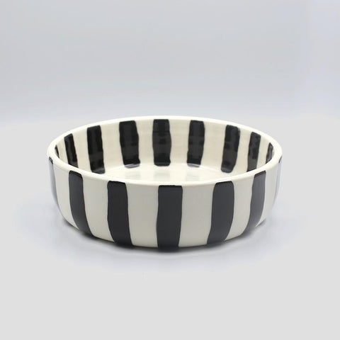 btw Ceramics White Torrent Ceramic Dog Bowl