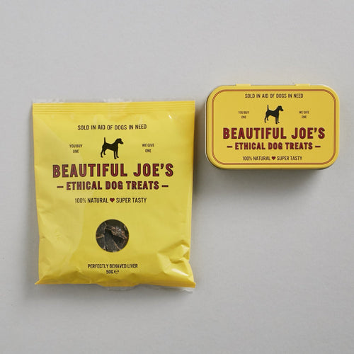 Beautiful Joe's Natural Liver Dog Treats