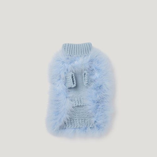 designer blue jumper for dogs
