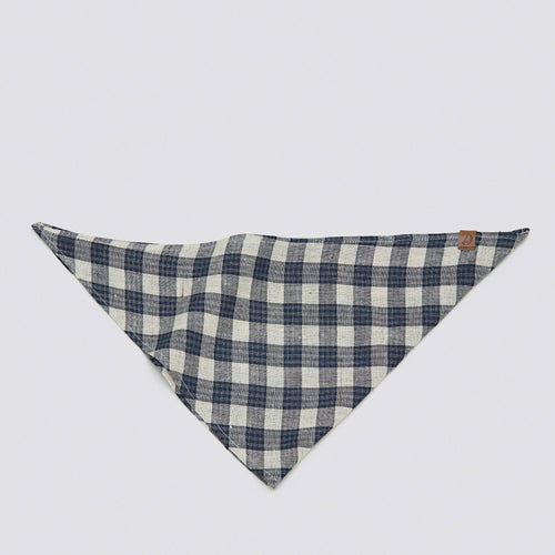 Cloud7 Blue Check dog bandana