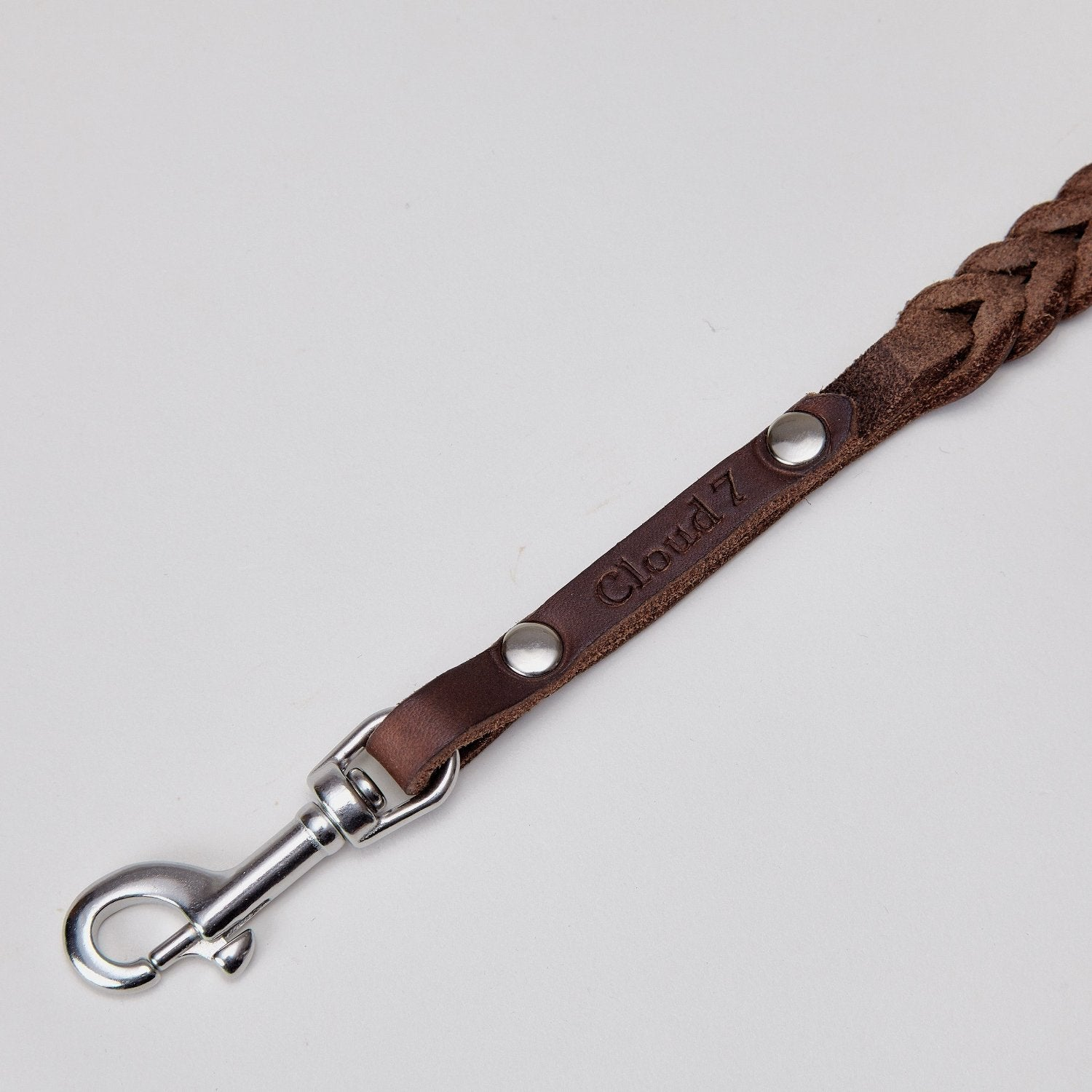 luxury leather dog lead