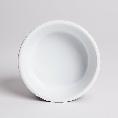 Cloud7 white ceramic dog bowl