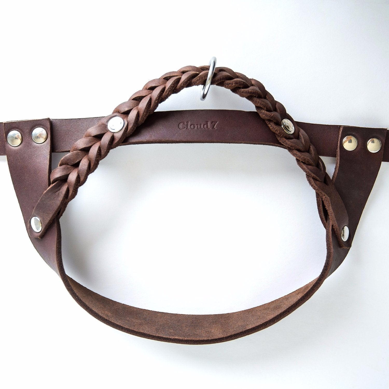 luxury leather harness