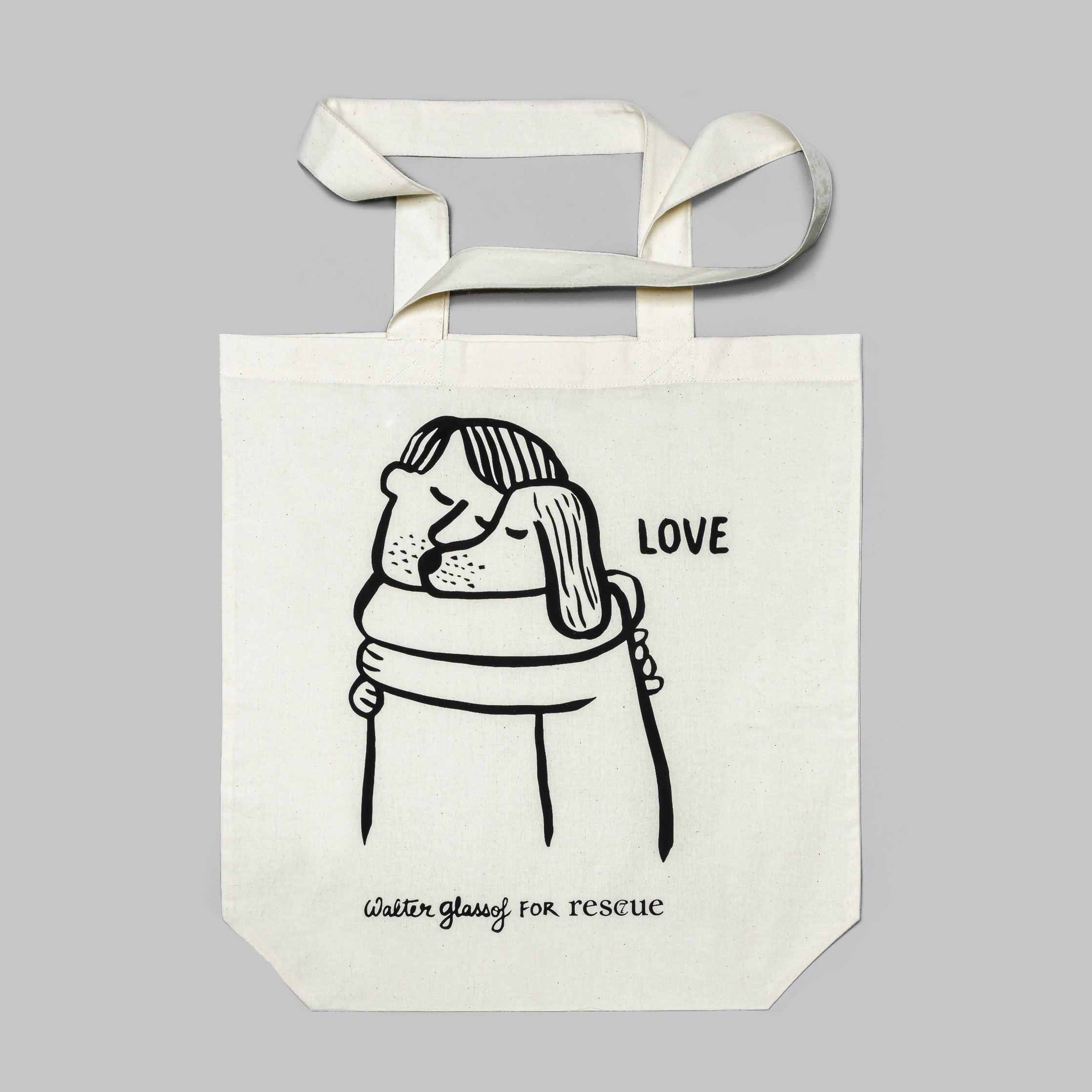 Cloud7 RESC7UE Tote Bag Love