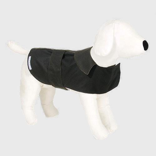 Mutts & Hounds Olive Waxed Dog Coat