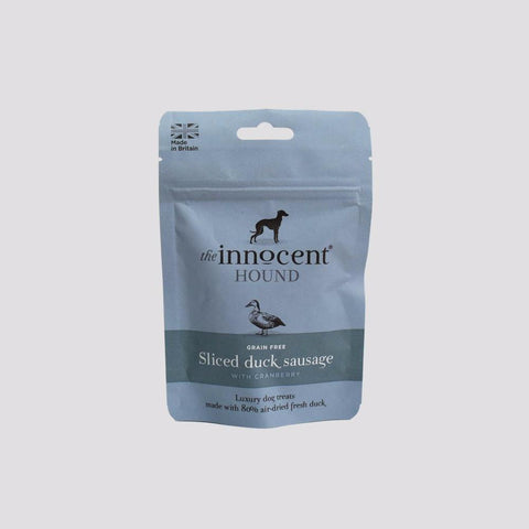The Innocent Hound - Venison Sausages with Apple