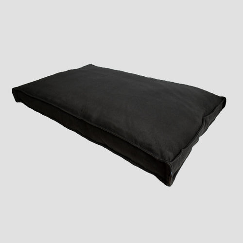 Yianni & Yoko Luxury Deep Fill Dog Cushion - Noir