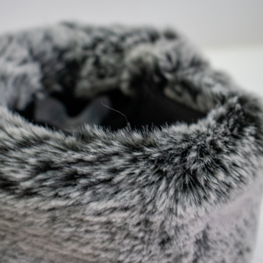 Yianni & Yoko Luxury Soft Faux Fur Dog Snood - Small