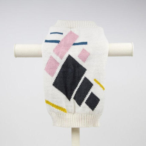 Max Bone Mickey Colour Blocked Dog Jumper