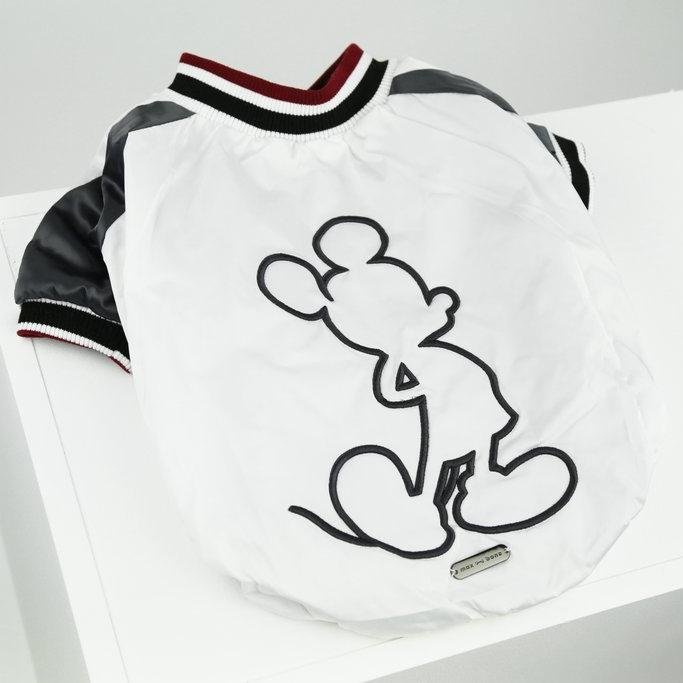 Max Bone Mickey Dog Bomber Jacket