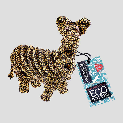 Green & Wilds Lionel the Llama Dog Eco Rope Toy