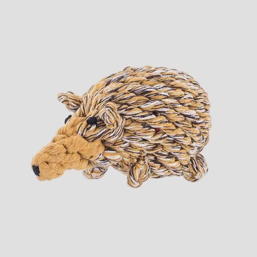 Jax & Bones Hedgehog Rope Dog Toy