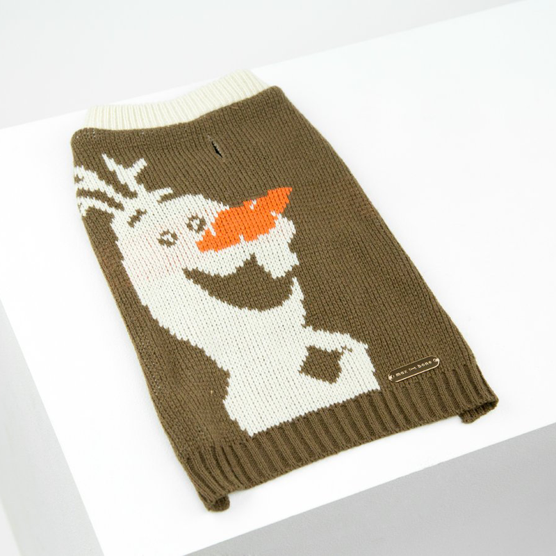 snowman christmas jumper for dogs