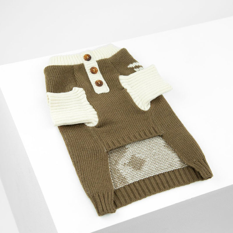 luxury christmas jumper for puppies