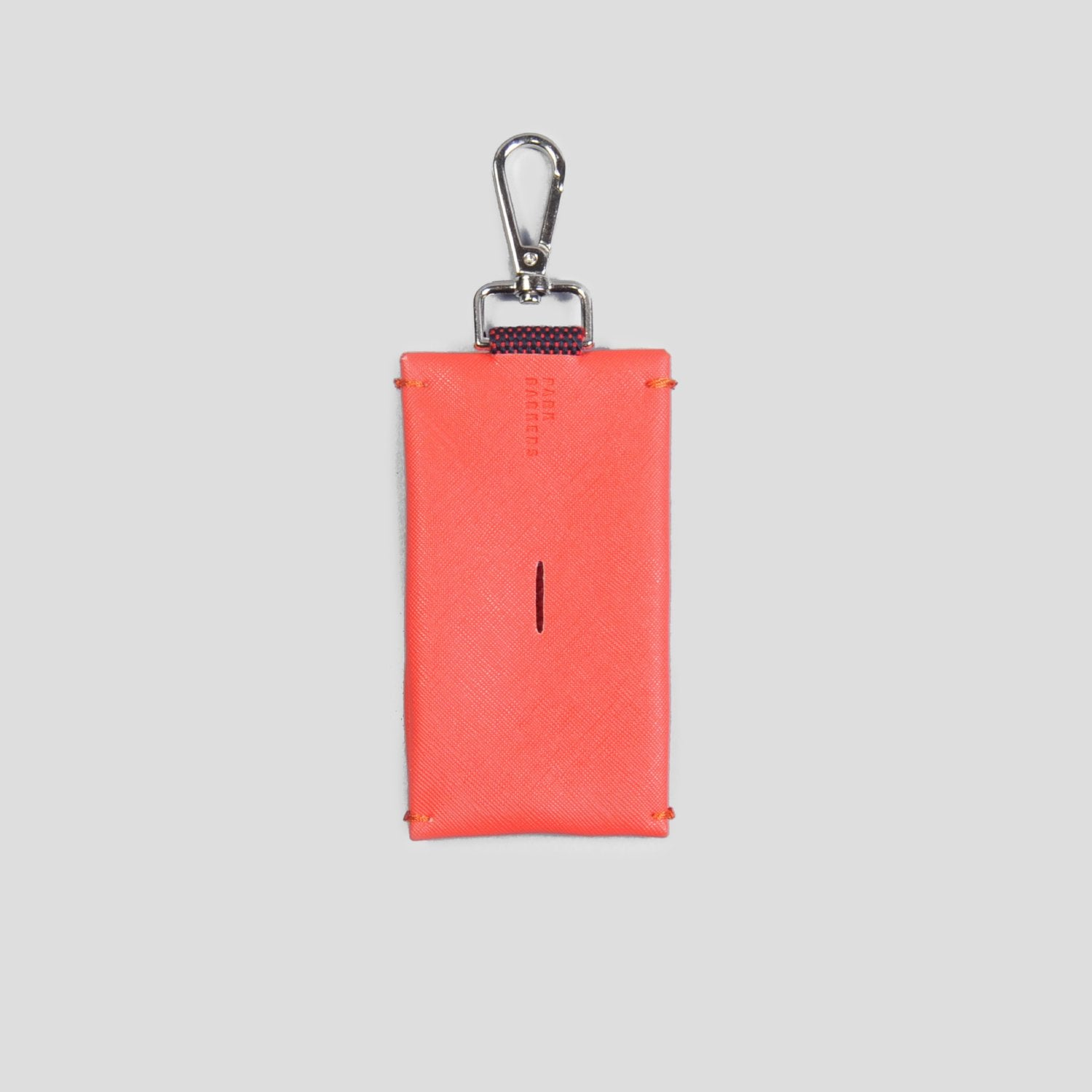 Park Barkers Red Hyde Dog Poop Bag Holder